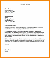 8 thank you letter for after resigning letteres