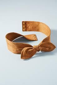 bow belt suede bow belt anthropologie