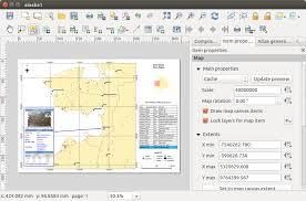 qgis layout mode creating an output