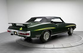 one of 17 1971 pontiac gto judge convertible sells for 23