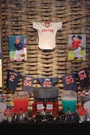 Boston Red Sox Home Decor by Boston Red Sox Baseball Themed Bar Mitzvah At The Stave Room In
