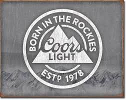 coors light bar sign lighted beer sign etsy