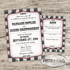 playbill wedding program steunk playbill printable wedding invitation set 2457686