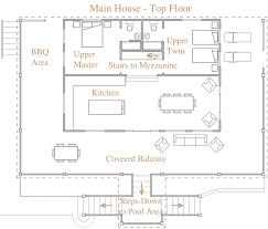main house floor plan vikendica pinterest pool houses pool