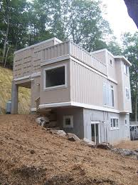 modish container living plan get self build container house with