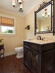 Dark Vanity Houzz - Dark wood bathroom cabinets