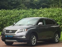 lexus used uk used lexus rx 450h suv 3 5 se l station wagon cvt 5dr in