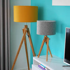 grey tripod table lamp enhancing your interior use tripod table