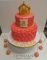 princess baby shower cake shower cakes croissants myrtle bistro bakery