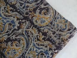 Paisley Home Decor Fabric by Paisley Print Kalamkari Fabric Indian Fabric Cotton Fabric