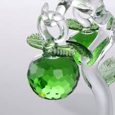 aliexpress com buy 135mm aocai crystal apple tree christmas gift