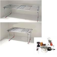 Kitchen Sink Shelves - accessories over the kitchen sink organizer cool white wooden