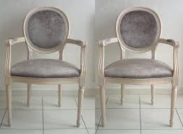 fauteuil louis xvi pas cher fauteuil medaillon style louis xvi
