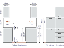 standard height of kitchen cabinet height of kitchen cabinets faced
