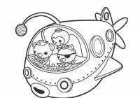 free printable octonauts coloring pages free coloring pages