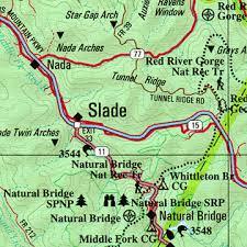 kentucky backroads map kentucky road map kentucky atlas