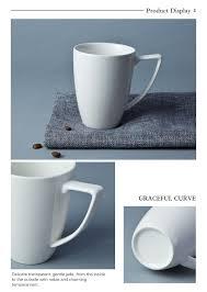 Coffee Mugs Wholesale Stock Available Reusable Coffee Cup Custom White Porcelain Mugs