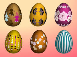 decorative eggs decorative easter eggs free vectors ui