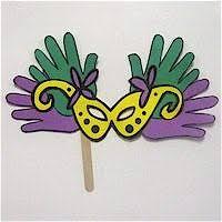 mardi mask printable mardi gras mask