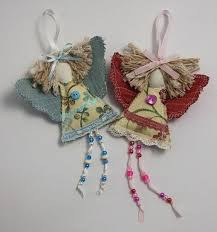 goddaughter christmas ornaments shabby chic guardian angel christmas angel decoration