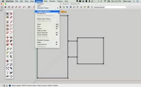 Rectangle Floor Plans How To Draw A 2d Floor Plan To Scale In Sketchup From Field