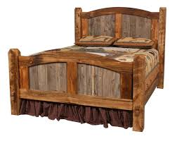 Homemade Headboards For King Size Beds by Best 25 Rustic Bed Ideas On Pinterest Rustic Bed Frames