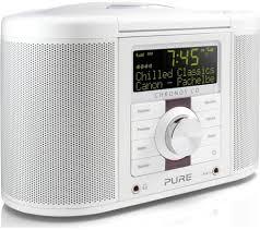 Buy Clock by Buy Pure Chronos Cd Series Ii Dab Clock Radio White Free