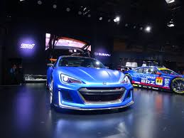 2016 subaru wrx sti widebody blue 16 jdm tuners 1 24 model by tomei subaru impreza