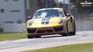 how fast is a porsche 911 turbo porsche 911 turbo s exclusive series in at goodwood