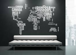 world map text with country names wall sticker housewar product 92054 1 org
