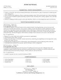event coordinator resume event management resume sle event manager resume event planner
