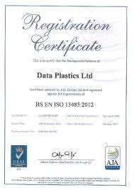 quality data plastics medical