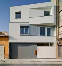Spanish Home Plans House F U0026m Features A Facade That Angles In And Out
