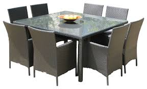 morning 9 outdoor dining set contemporary outdoor
