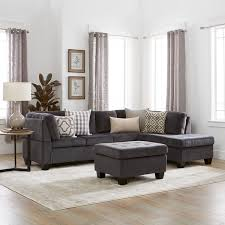 Overstock Sectional Sofas Canterbury 3 Fabric Sectional Sofa Set By Christopher