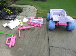 barbie power wheels how to paint your power wheels