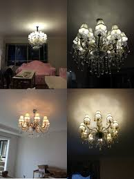Modern Crystal Chandeliers For Dining Room by Contemporary Chinese Crystal Chandeliers Living Room Custom Glass