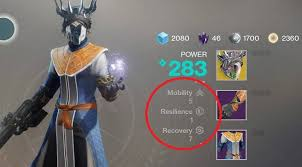destiny 2 highest light level destiny 2 mobility resilience and recovery which stat is most