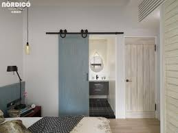 home design sliding barn bedroom doors cool nordic home with