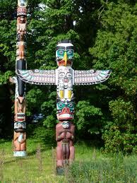 free images field totem pole sculpture art poles alaska