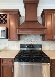 signature chocolate pre assembled kitchen cabinets the roosevelt vanilla w chocolate mist kitchen cabinets rta kitchen