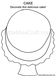 crafts sweets cake doodle coloring page