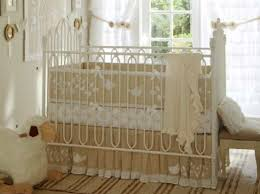 Beige Crib Bedding Set High Vs Low Otomi Inspired Crib Bedding