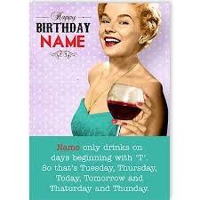 birthday funny for her spacehippo cards