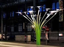 ross lovegrove solar tree solar powered lighting
