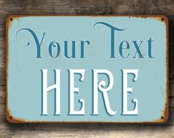 Personalized Signs For Home Decorating Custom Sign Etsy
