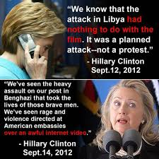 Benghazi Meme - knowingly lied to the families of the benghazi victims and the
