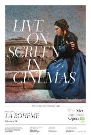 met opera 2018 la boheme book tickets at cineworld cinemas