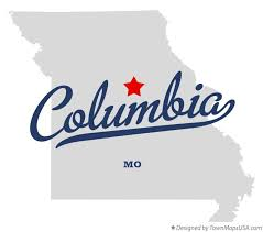 columbia missouri map map of columbia mo missouri