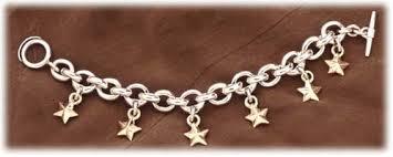 silver star charm bracelet images Gold star bracelet the bracelet collections jpg